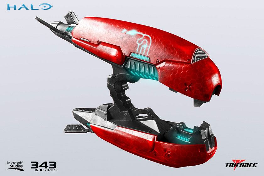 Halo 2 Replica 1/1 Brute Plasma Rifle Anniversary Edition 62 cm