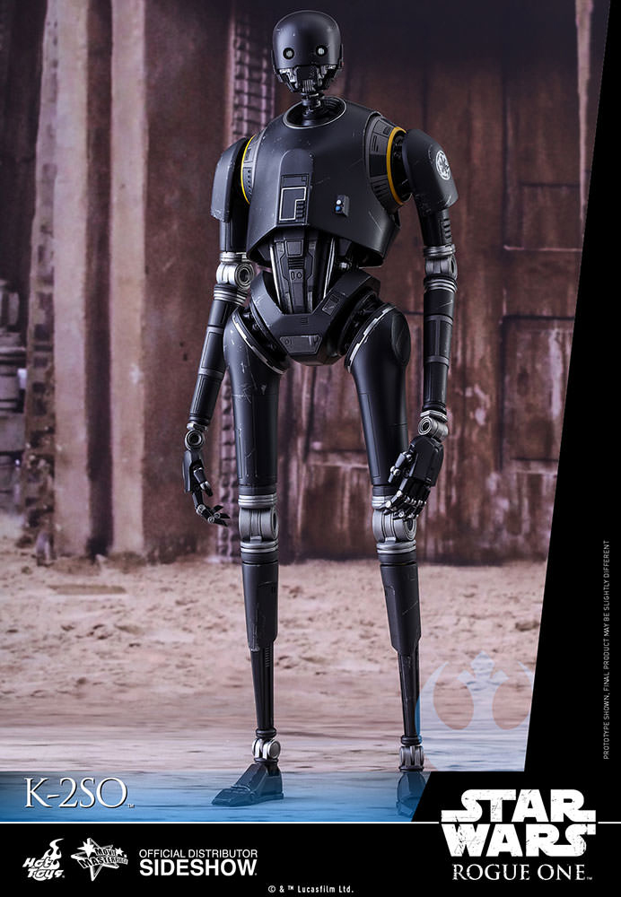 Star Wars Rogue One Movie Masterpiece Action Figure 1/6 K-2SO 36 cm