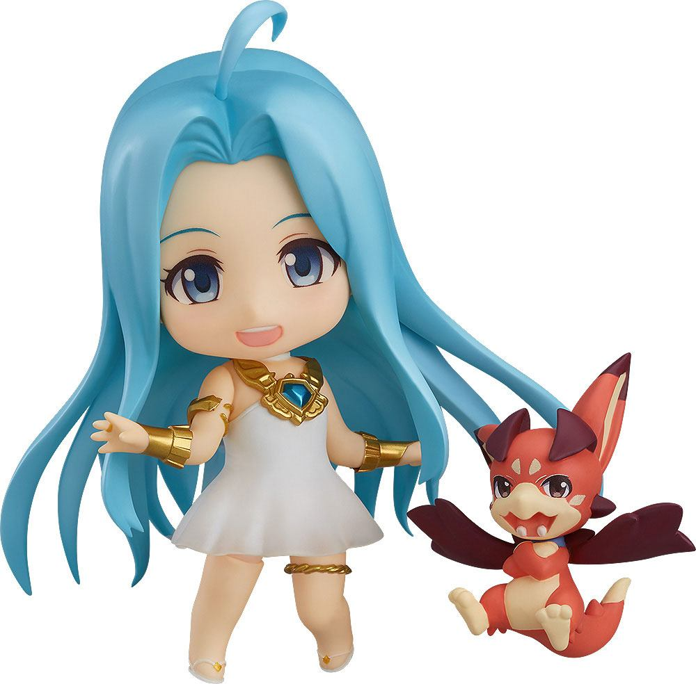 Granblue Fantasy The Animation Nendoroid Action Figure Lyria & Vyrn 10 cm
