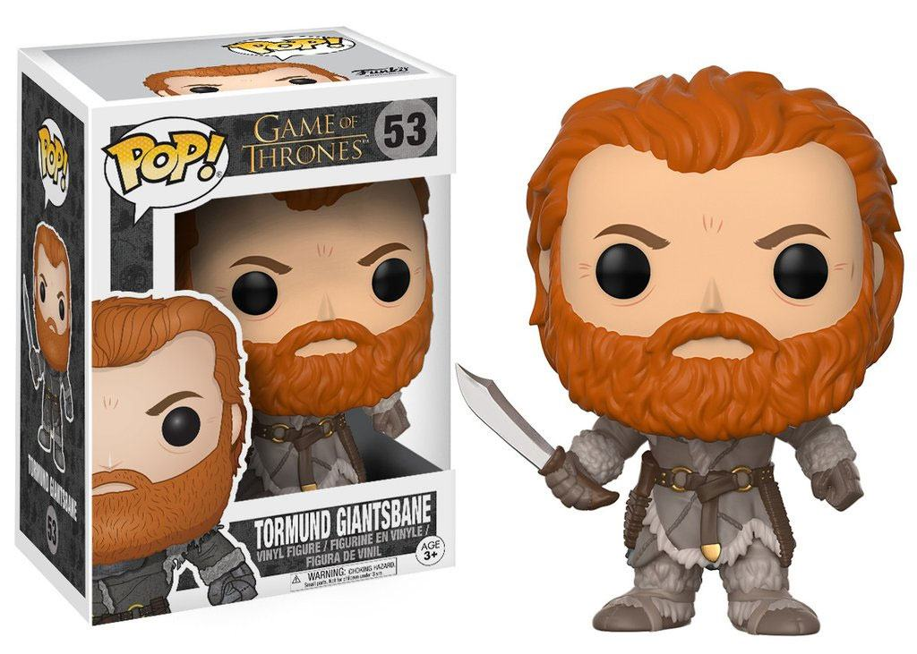 Game of Thrones POP! Television Vinyl Figure Tormund 10 cm