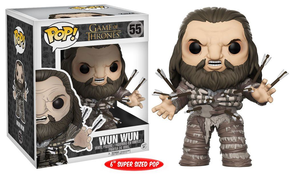 Game of Thrones Super Sized POP! Television Vinyl Figure Wun Wun de 15 cm
