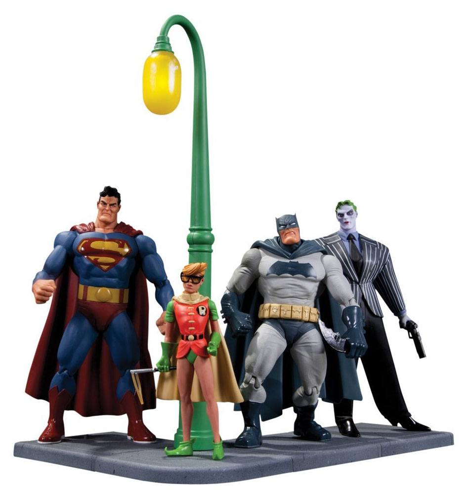 Batman The Dark Knight Returns Action Figure 4-Pack 30th Anniversary 15 cm
