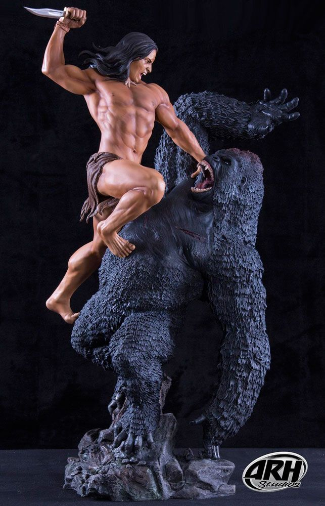 ARH Studios Tarzan Statue 1/4 Tarzan Primal Rage 74 cm