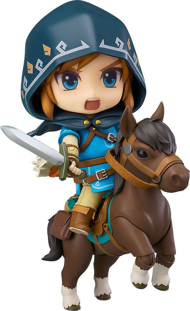 The Legend of Zelda Breath of the Wild Nendoroid Action Figure Link Deluxe