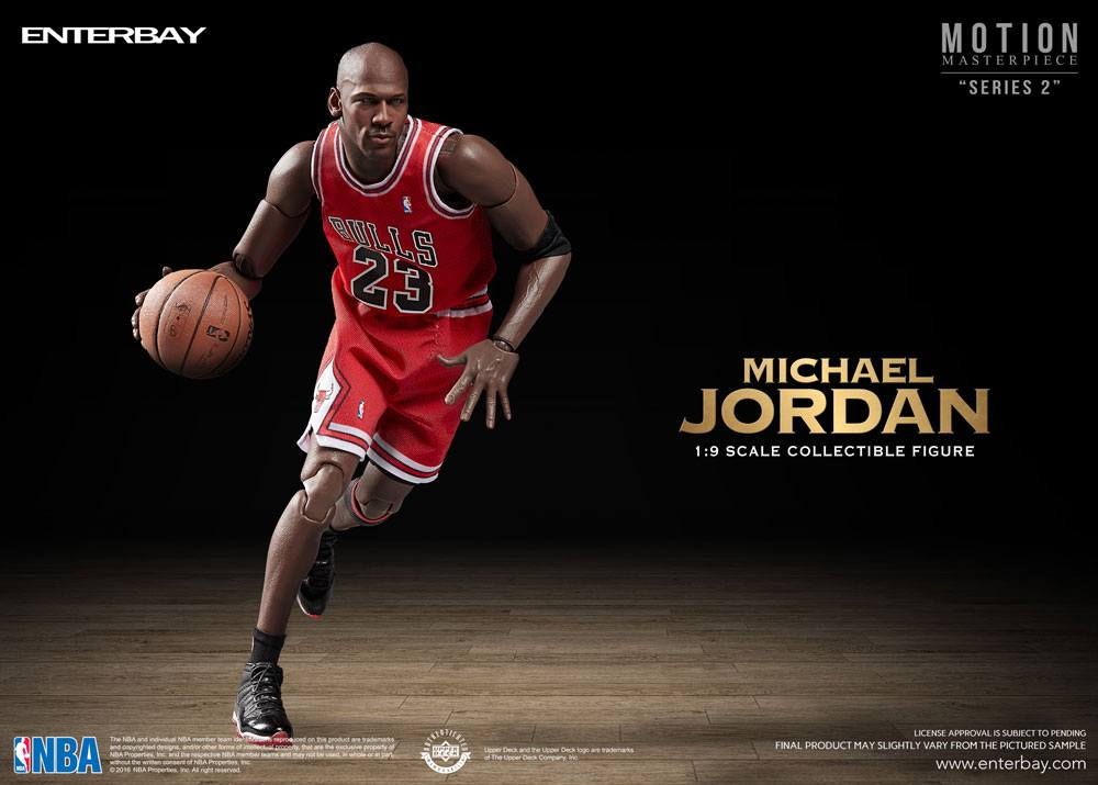 NBA Collection Motion Masterpiece Action Figure 1/9 Michael Jordan 23 cm