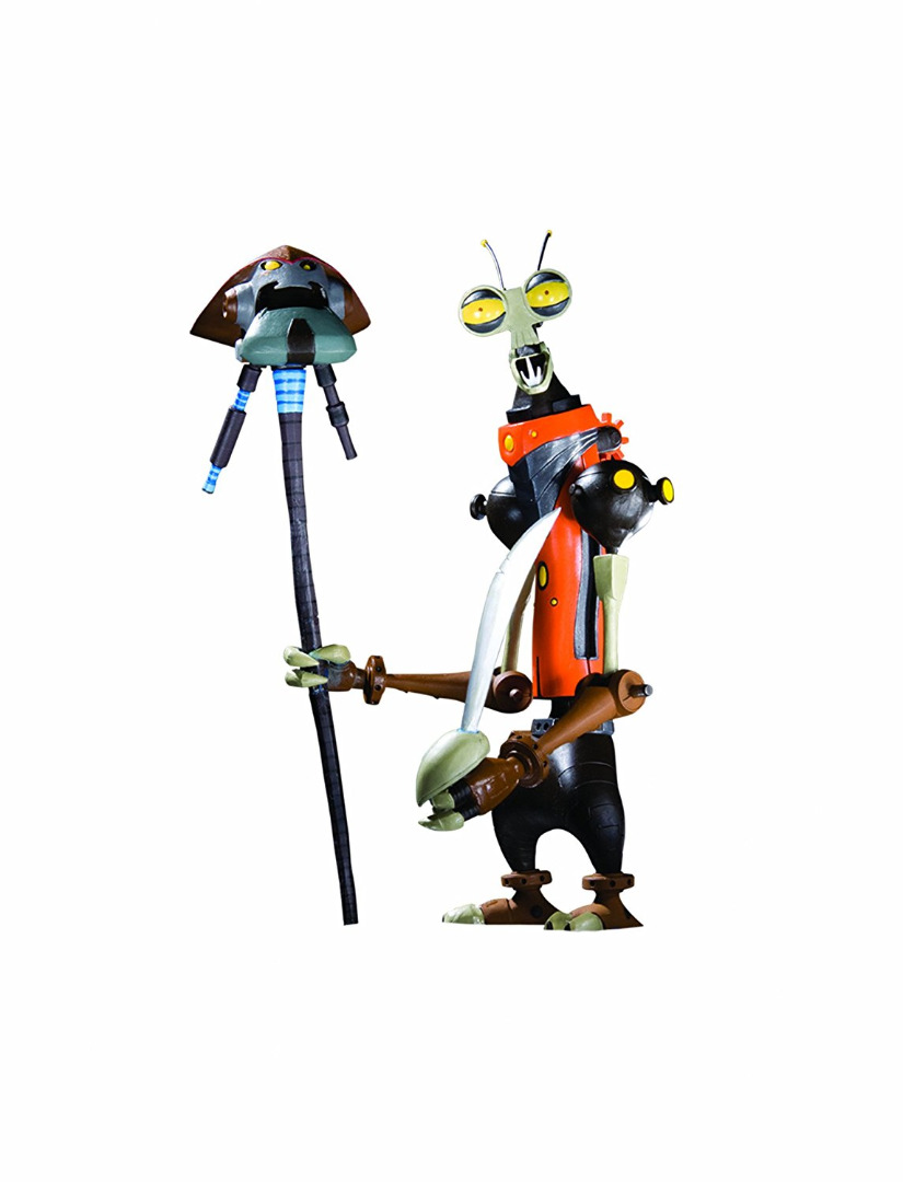 Action Figure Ratchet & Clank Series 2 - Rusty Pete 15 cm