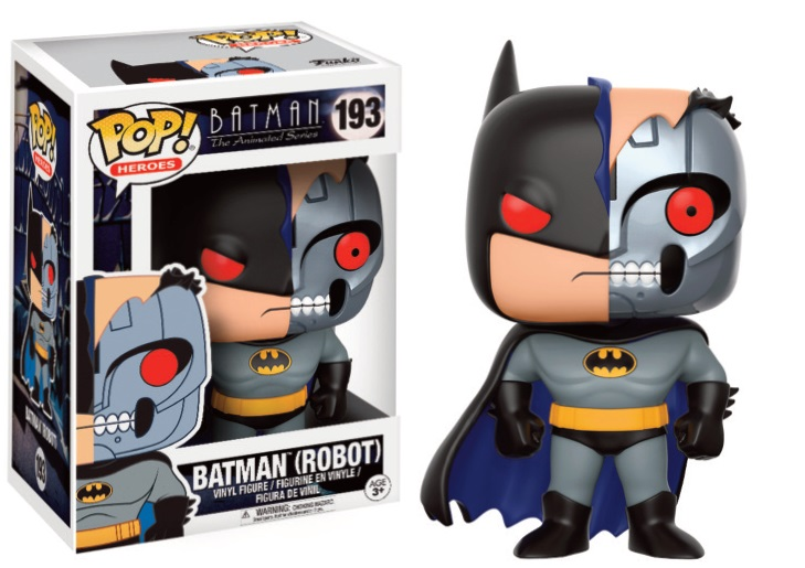 Pop! DC: Animated Batman - Batman Robot Vinyl Figure 10 cm