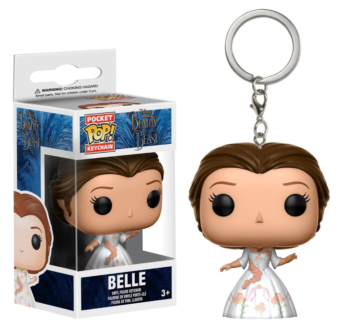 Funko Pocket POP! Keychain Beauty and the Beast Action - Belle Celebration