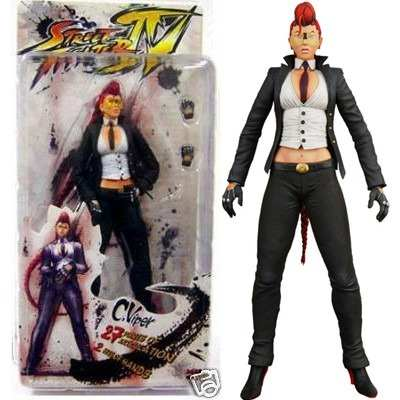Action Figure Street Fighter 4 - Viper 18 cm