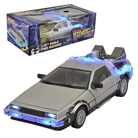 Back to the Future Model Iced Time Machine 30th Anniversary Edition 33 cm