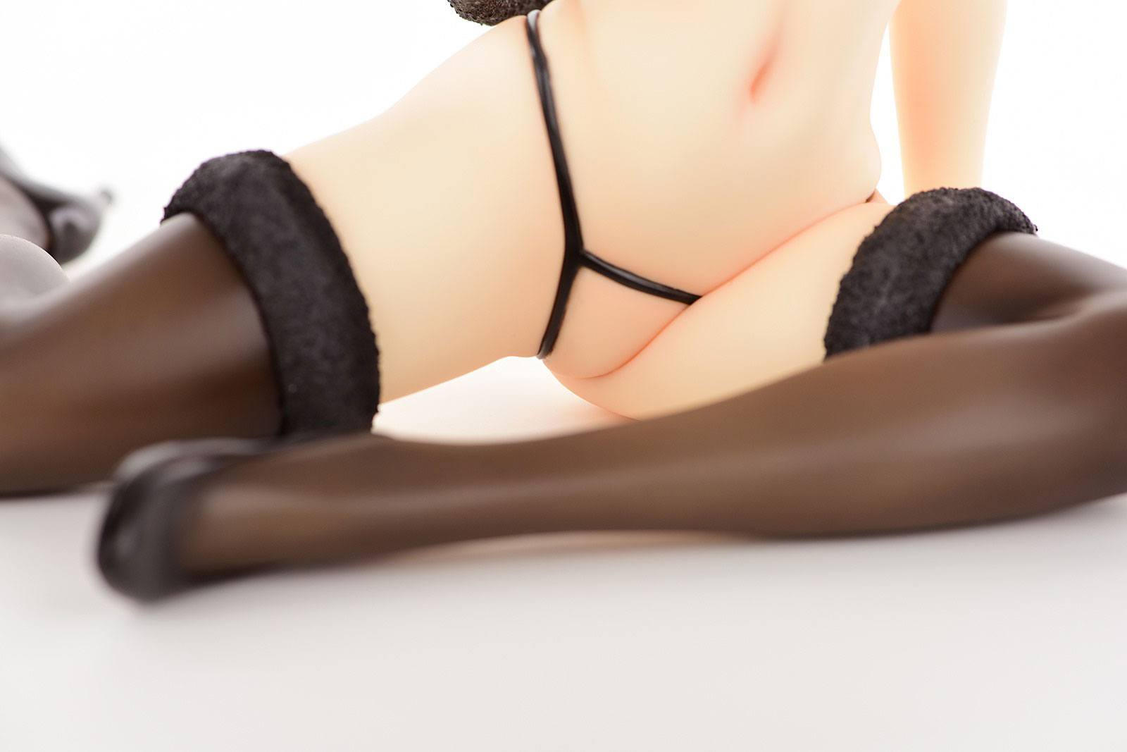To Heart 2 XRATED PVC Statue 1/5 Komaki Manaka Kuroneko Temptation 16 cm
