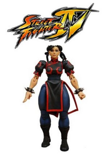 Action Figure Street Fighter 4 - Chun-Li 18 cm
