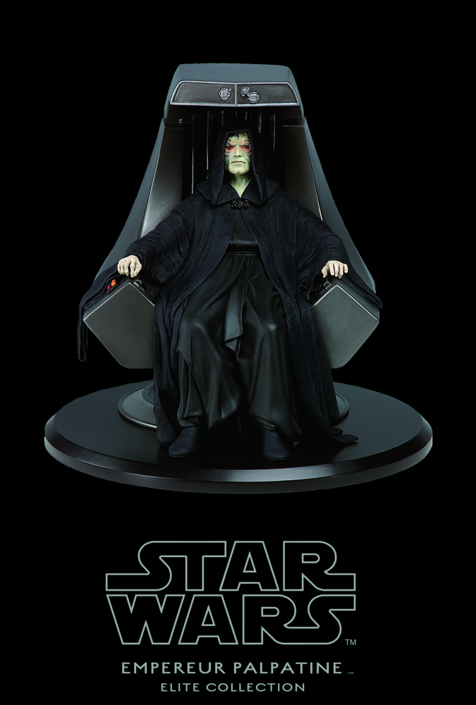 Star Wars Elite Collection Statue Emperor Palpatine & Imperial Throne 18 cm