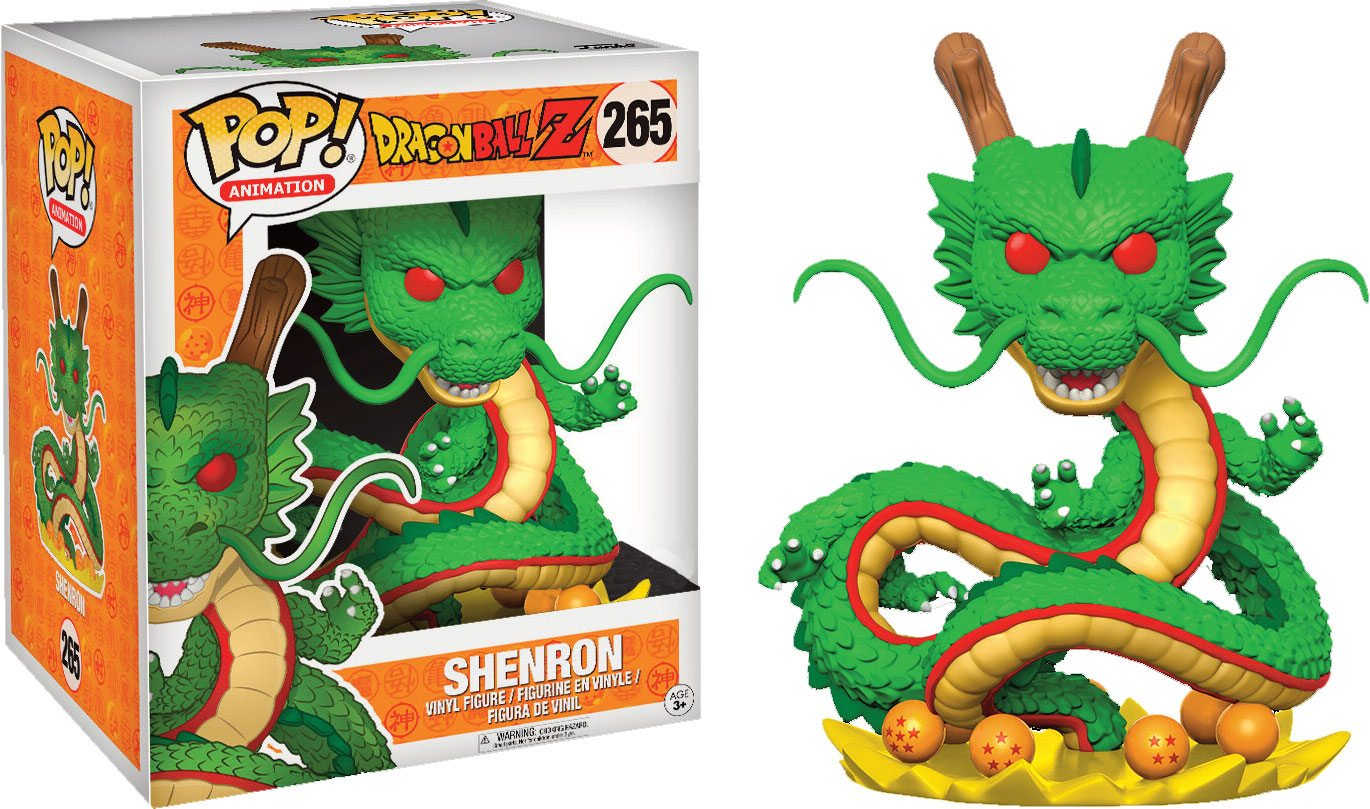 Dragonball Z POP! Animation Vinyl Figure Shenron Limited Edition 15 cm