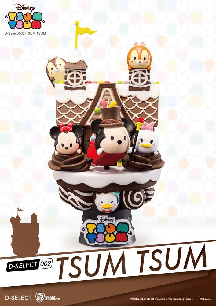 Disney Tsum Tsum D-Select Diorama 15 cm