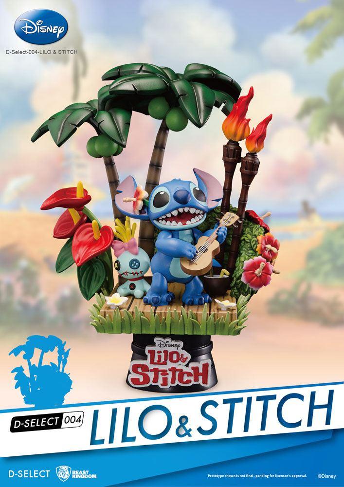 Lilo & Stitch D-Select Diorama 14 cm