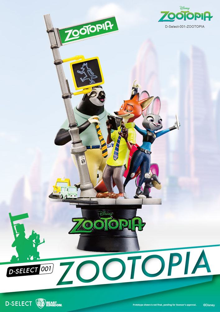 Zootopia D-Select Diorama 16 cm