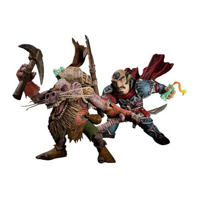 World of Warcraft Series 8: Gnome Rogue: Brink Spannercrank vs Kobold Miner