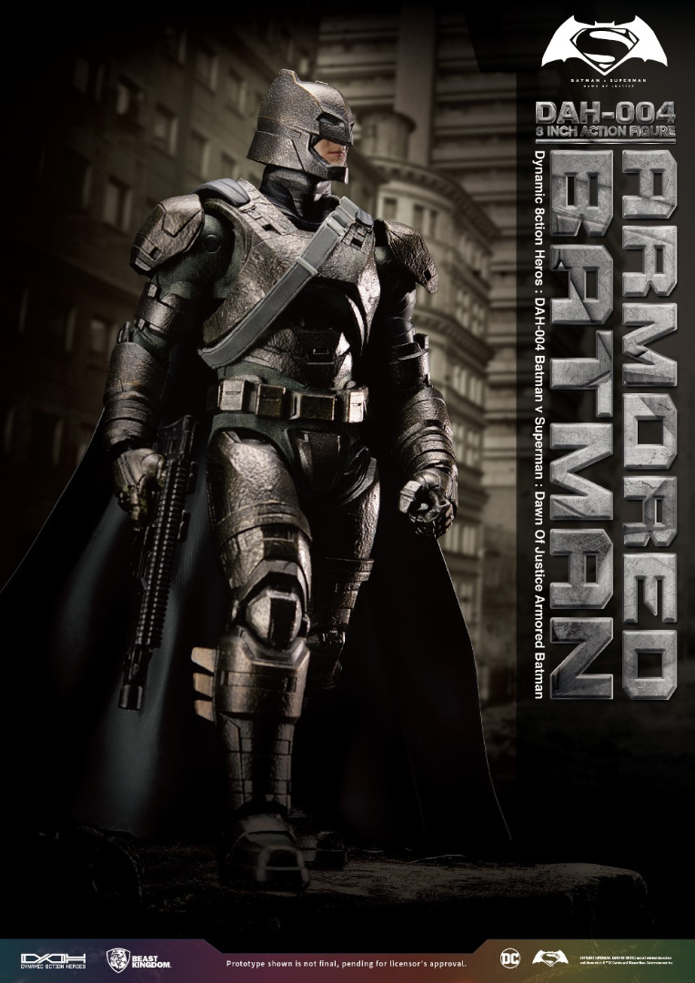 Action Figure Batman vs Superman: Dawn of Justice - Armored Batman 20 cm