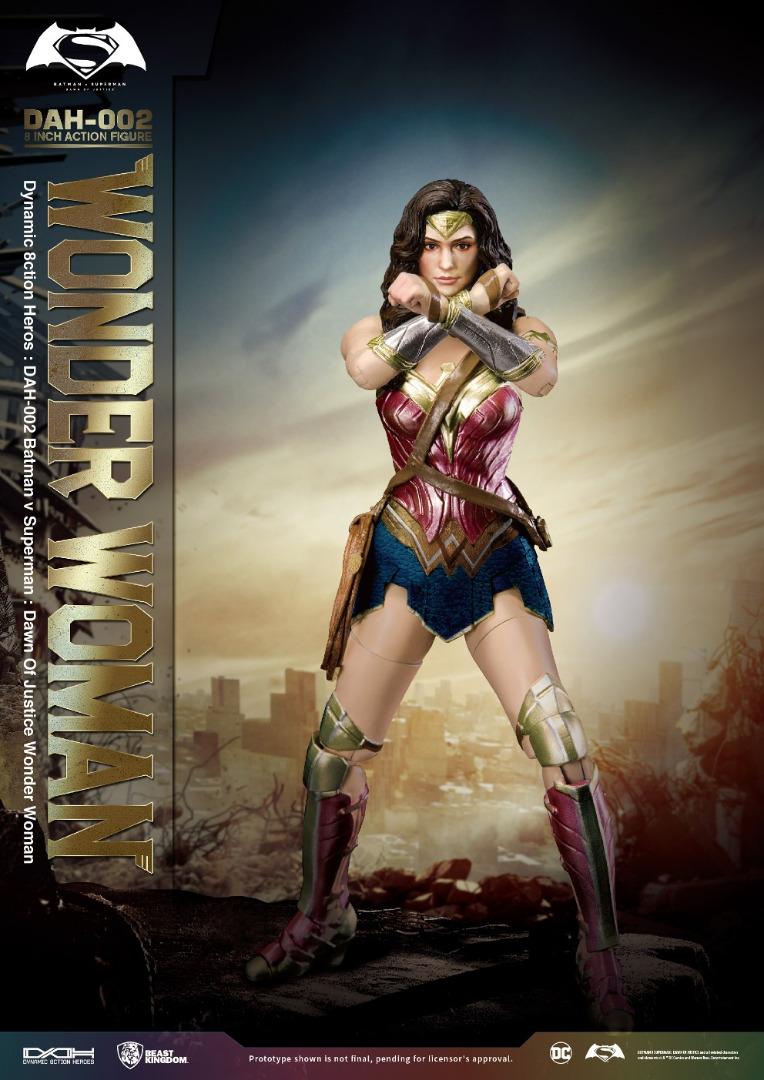 Action Figure  Batman vs Superman: Dawn of Justice - Wonder Woman 19 cm