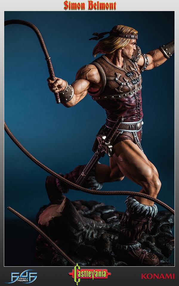 Castlevania: Simon Belmont Regular Statue 51 cm