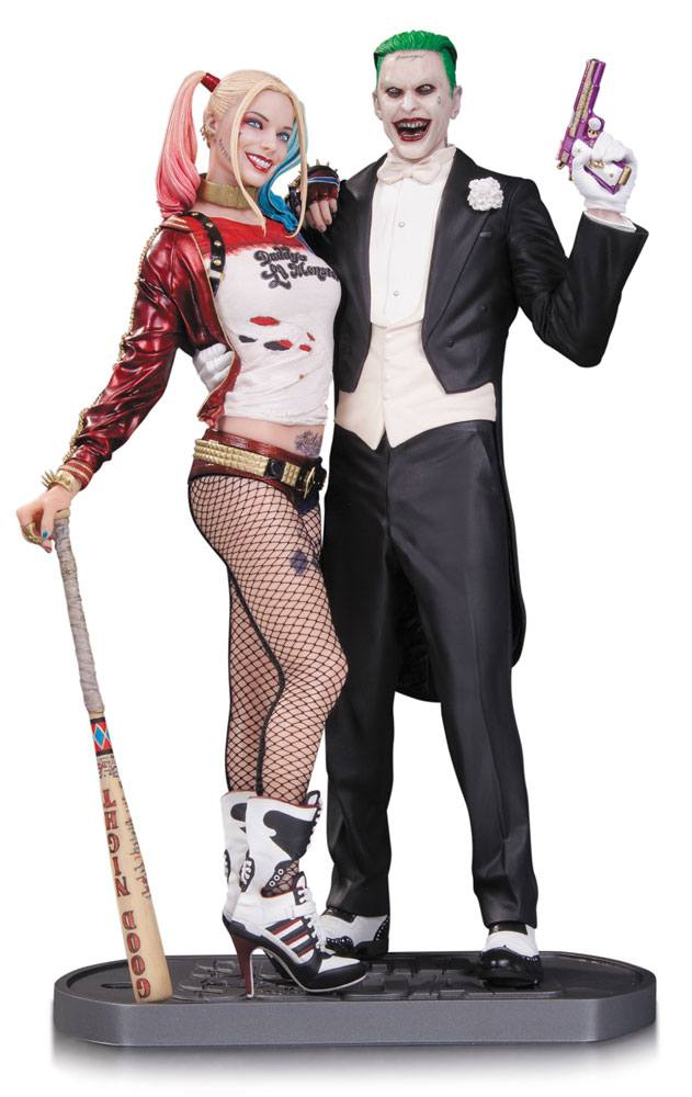 Suicide Squad Statue Joker & Harley Quinn 30 cm