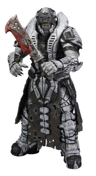 Action Figure Gears of War 3 - Savage Theron Version 2 18 cm