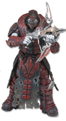 Action Figure Gears of War 3 - Theron Sentinel Open Chin Mask 18 cm