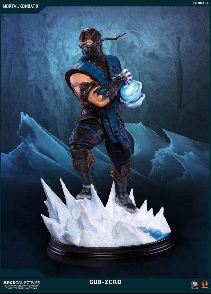 Mortal Kombat X Statue 1/4 Sub-Zero 54 cm