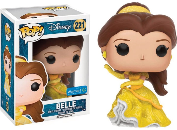 Pop! Disney: Beauty and The Beast - Belle Sparkle Ballgown Limited Edt.