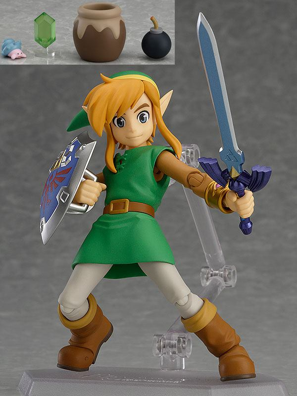 The Legend of Zelda A Link Between Worlds Figma Action Figure Link DX Edt.