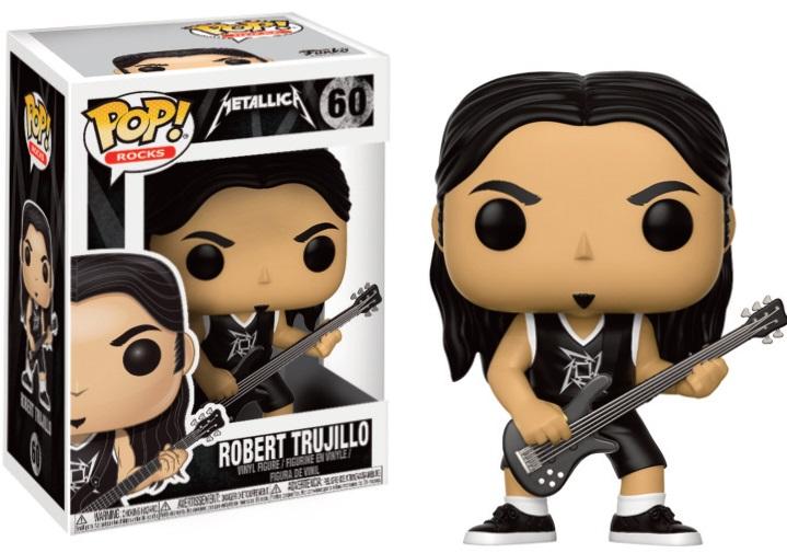 Pop! Rock: Metallica - Robert Trujillo Vinyl Figure 10 cm