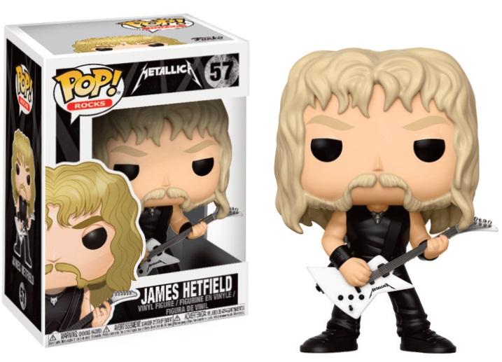 Pop! Rock: Metallica - James Hetfield Vinyl Figure 10 cm