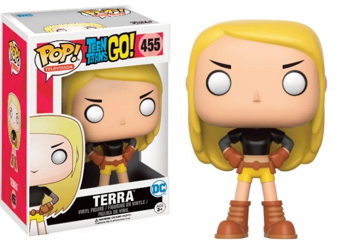 Pop! DC: Teen Titans Go! - Terra Limited Edition 10 cm