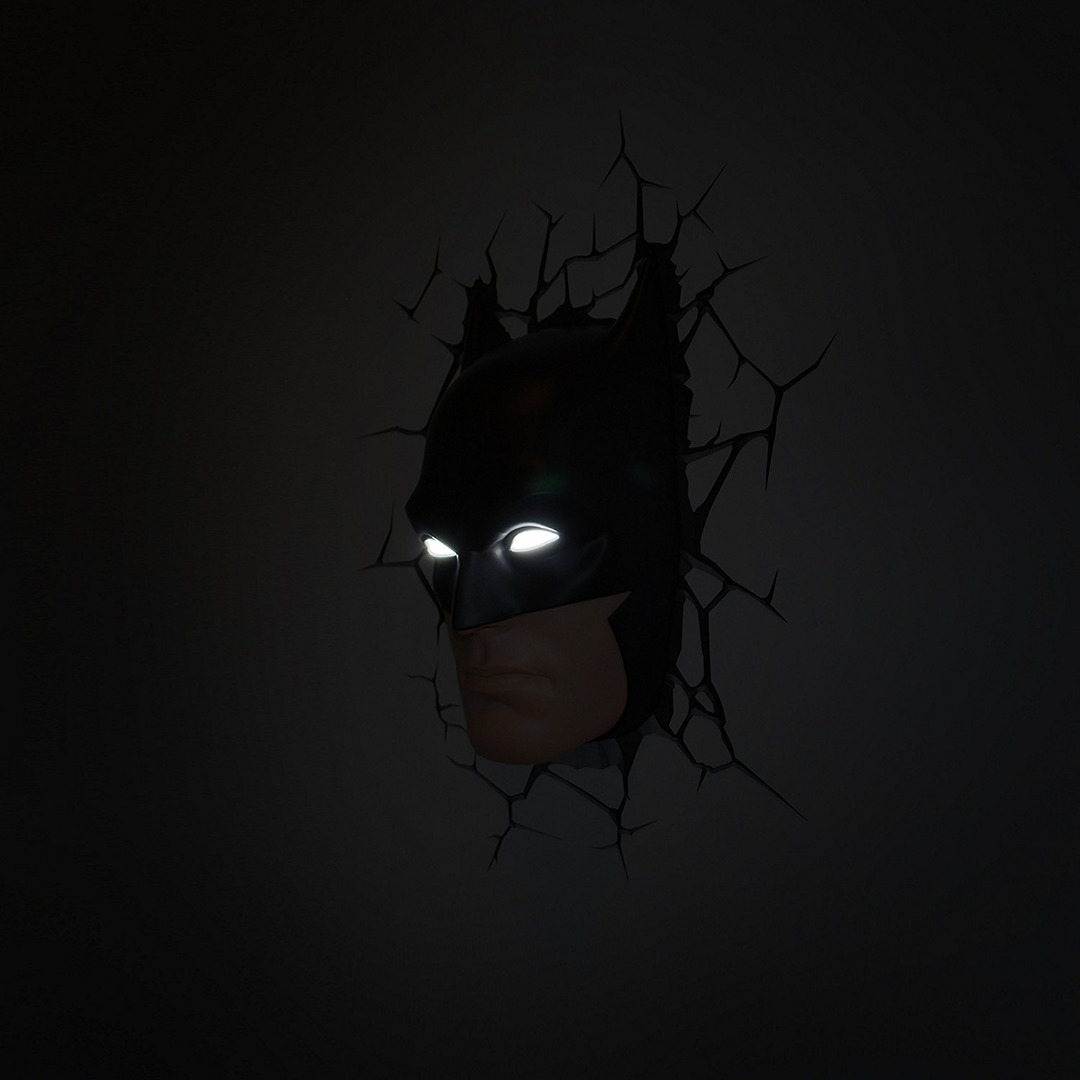 DC Comics 3D LED Light Batman Mask