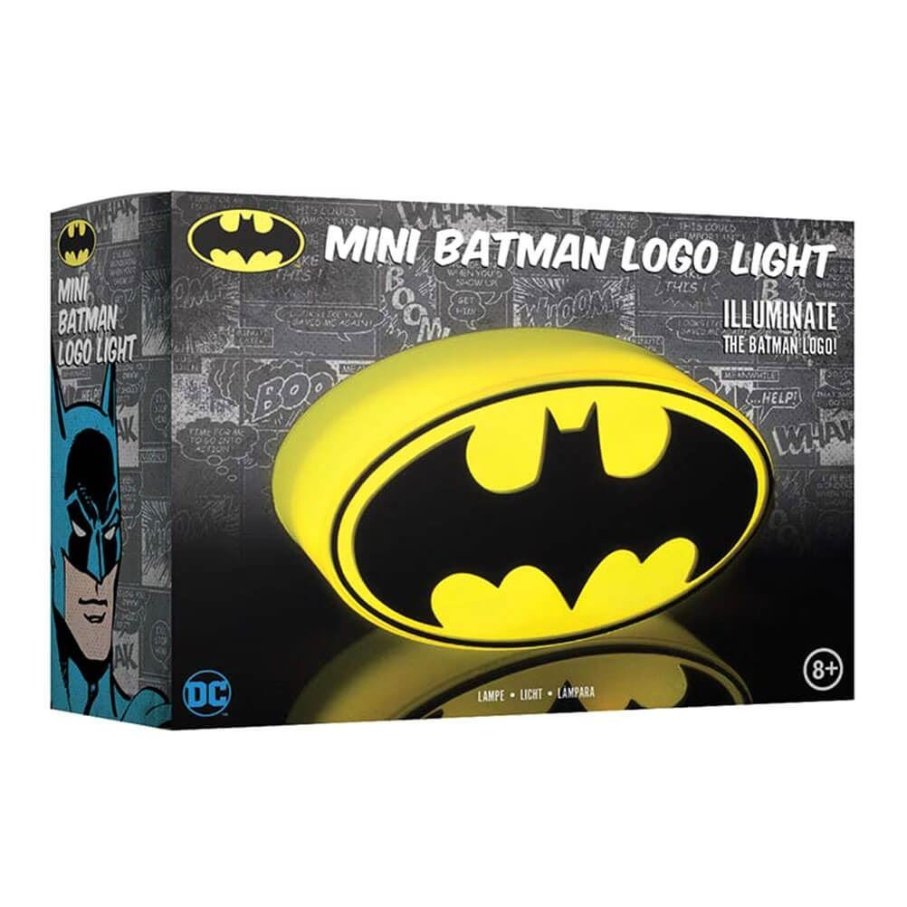 DC Comics: Mini Batman Logo Light