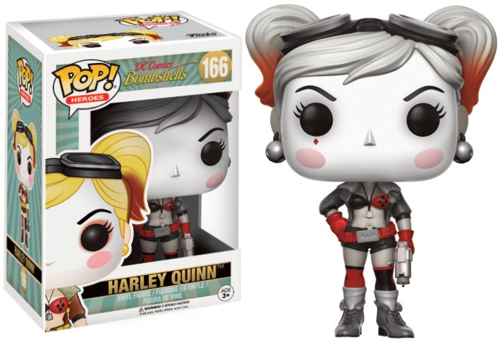 Pop! DC: Bombshells - Harley Quinn Flashback Limited Edition 10 cm