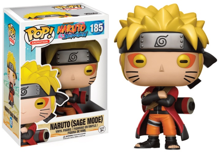 Pop! Anime: Naruto - Naruto Sage Mode Limited Edition Vinyl Figure 10 cm