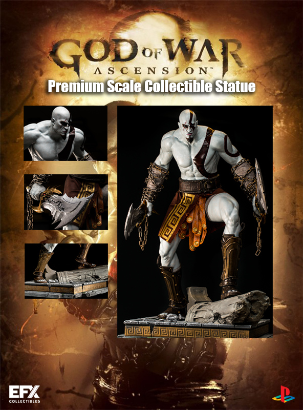 Estátua GOD OF WAR ASCENSION PREMIUM Limited Edition 65 CM