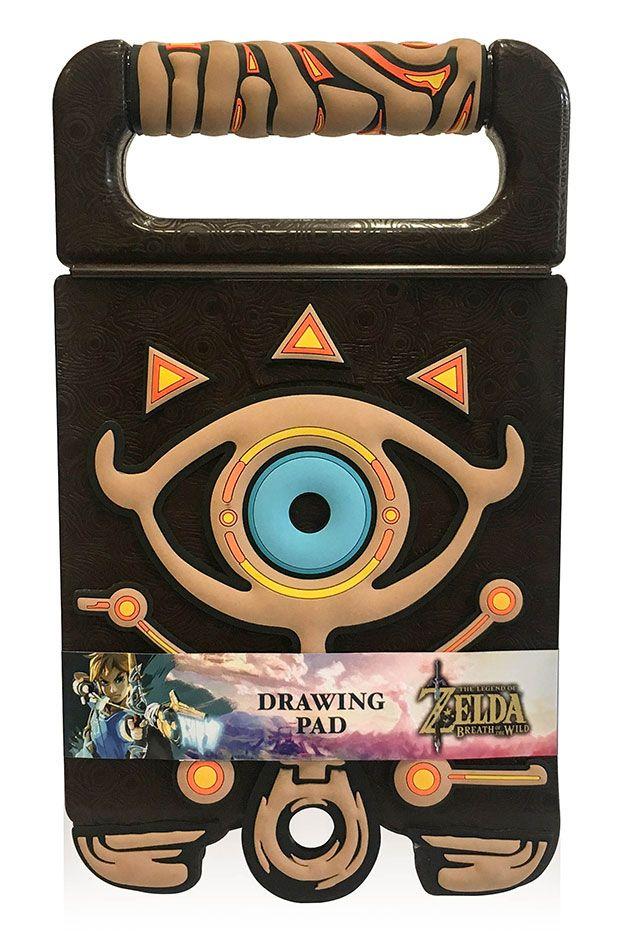 Legend of Zelda Breath of the Wild Drawing Pad Sheikah Slate