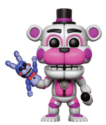 Pop! Games: Five Nights At Freddy's Sister Location - Funtime 10 cm