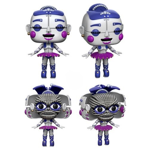 Pop! Games: Five Nights Freddy`s Sister Location Ballora + Chase 10 cm