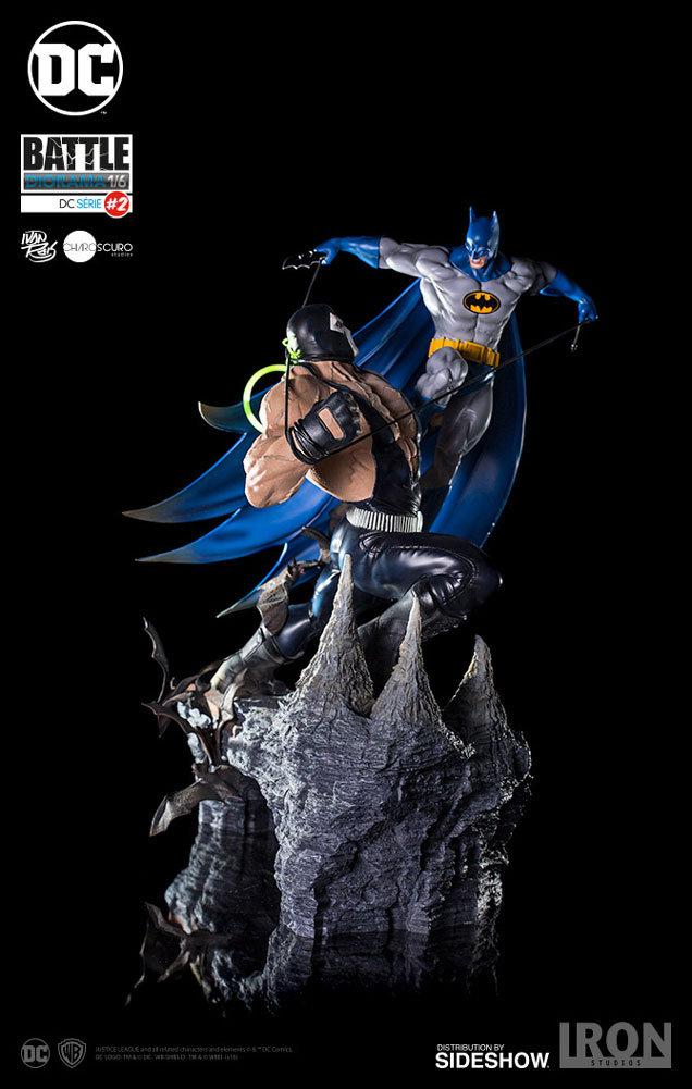 DC Comics: Batman vs Bane Battle 1:6 scale Diorama 55 cm