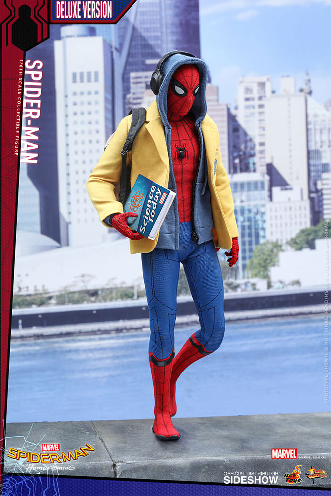 Spider-Man Homecoming Movie Masterpiece Action Figure 1/6 Spider-Man Deluxe
