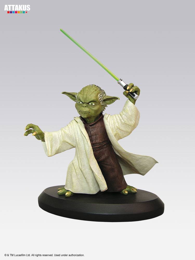 Star Wars Episode I Elite Collection Statue Yoda 3 8 cm