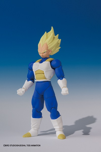 Action Figure DRAGON BALL Z SHODO SUPER SAIYAN VEGETA
