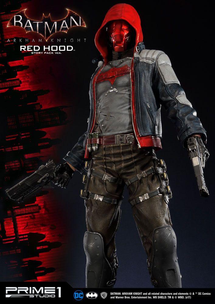 Batman Arkham Knight Statue Red Hood Story Pack 82 cm