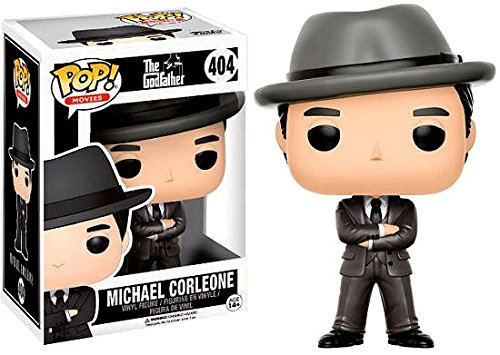 POP! Movies: The Godfather - Michael Corleone with hat Vinyl Figure 10 cm