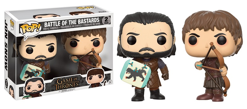 Pop! TV: Game of Thrones - Jon Snow and Ramsay Bolton Duel 2-Pack 10 cm