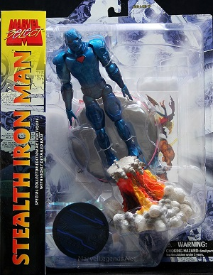 Action Figure Marvel Select Stealth Iron Man Collectors Edition 18 cm